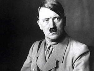 A picture of Adolf Hitler.