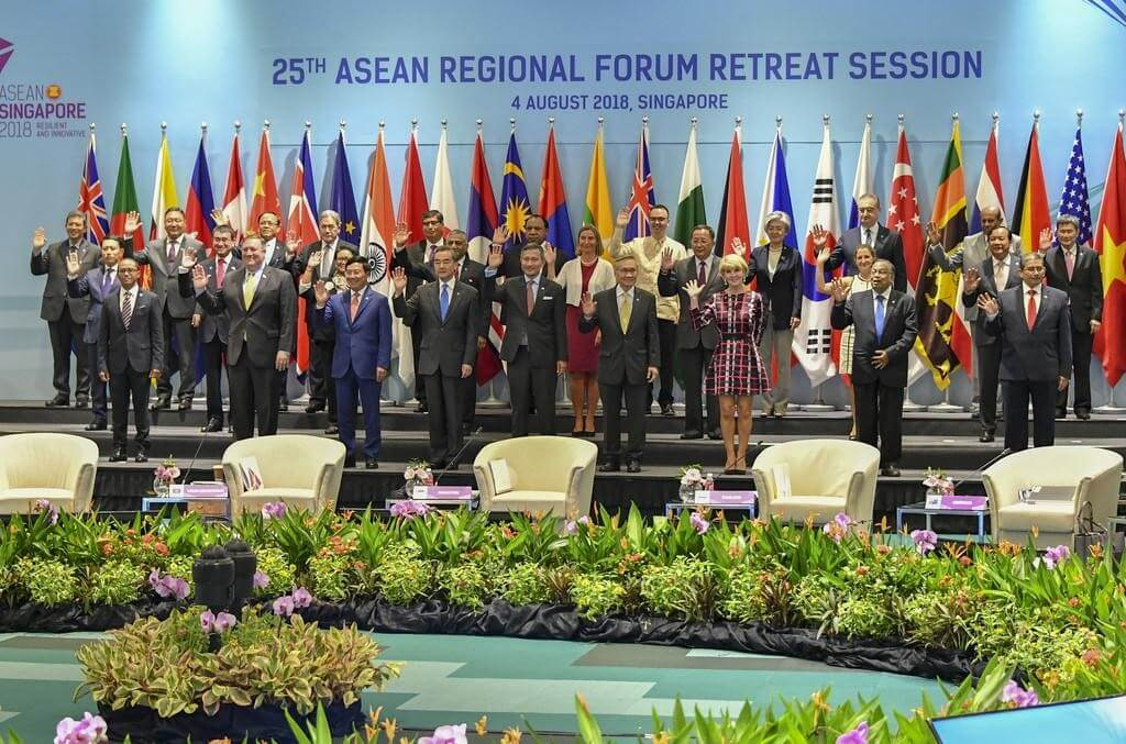 Participants of the ASEAN Regional Forum Retreat